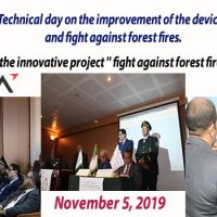 Scientific and Technical day on the improvement of the device for prevention and fight against forest fires.