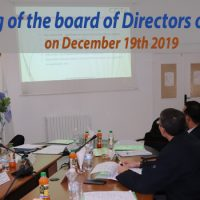 The members of the CDTA board of directors, met on December 19th , 2019 at the headquarters of the CDTA