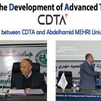 Framework signature between CDTA and Abdelhamid MEHRI University, Constantine 2